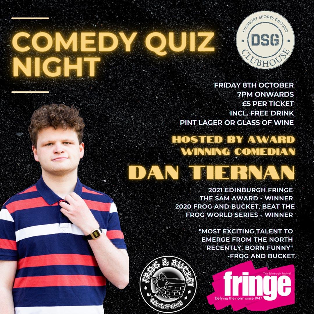 Comedy Pub Quiz Night